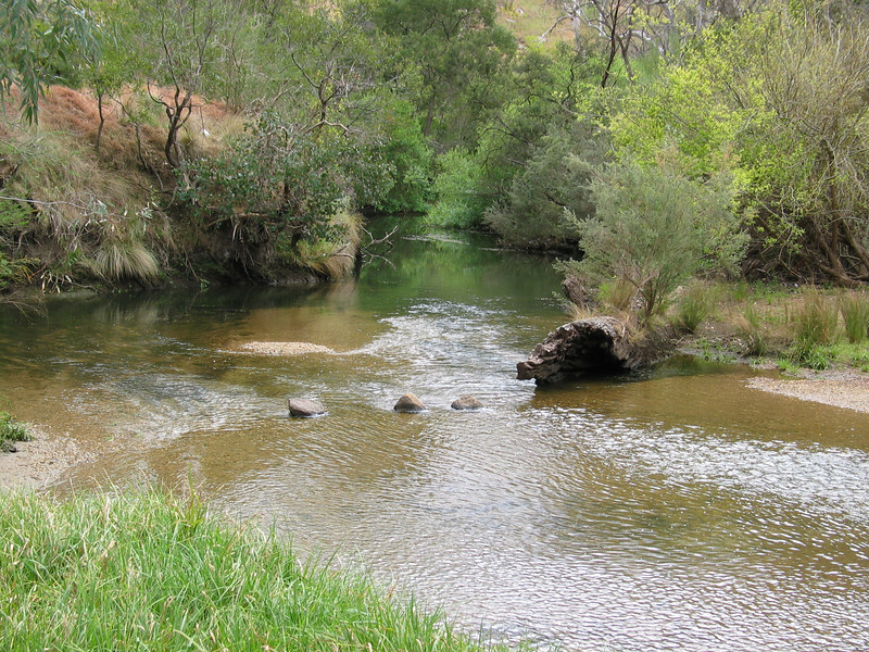 Cobbledicks Ford, Werribee River