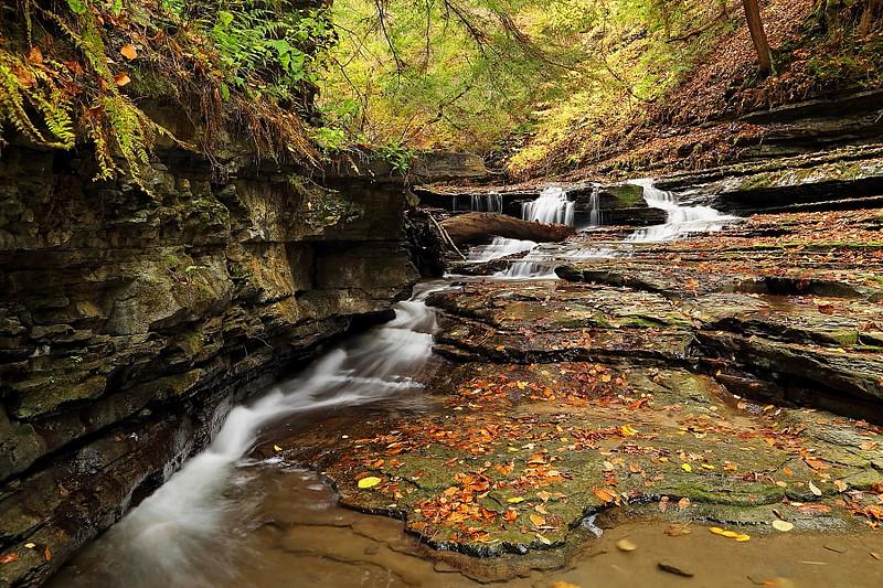 Image #384<br /> Sugar Creek  Glen ~ Western N.Y.