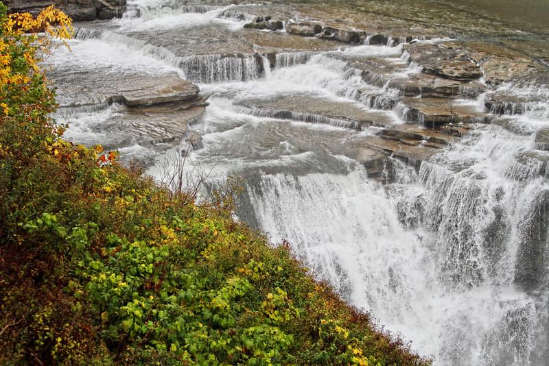Image #4281<br /> Upper Falls ~ Letchworth State Park, Western N. Y.