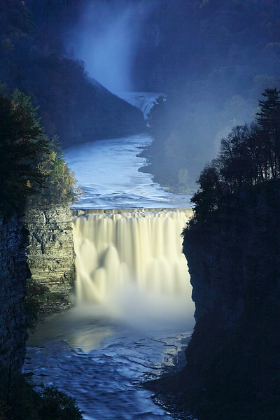 """MIDDLE FALLS NIGHT"""