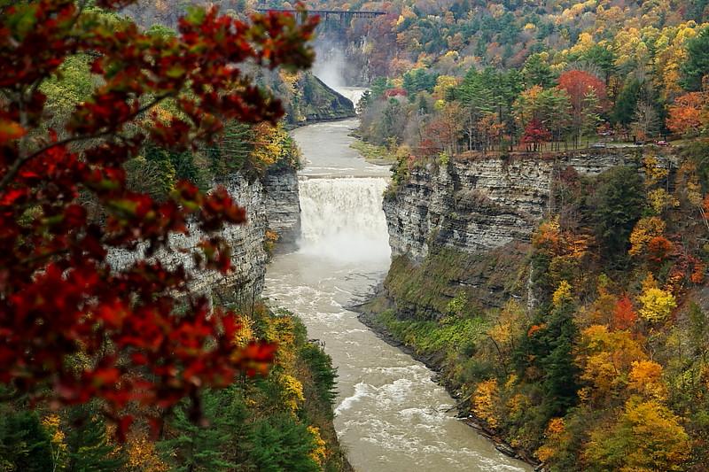 Image #546<br /> Letchworth State Park ~ Western N.Y.