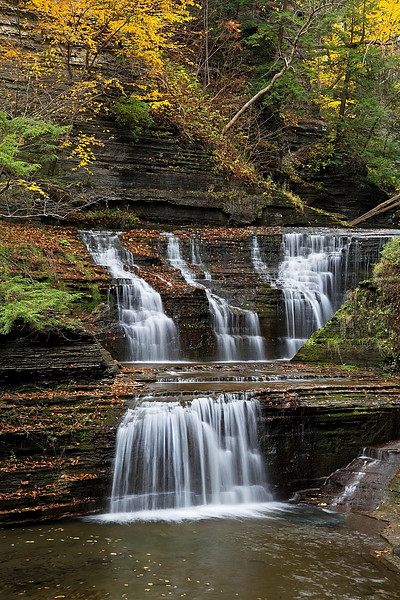 Image #263<br /> Buttermilk Falls State Park ~ Central N.Y.