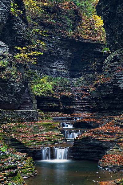 Image #218<br /> Watkins Glen State Park ~ Central N.Y.