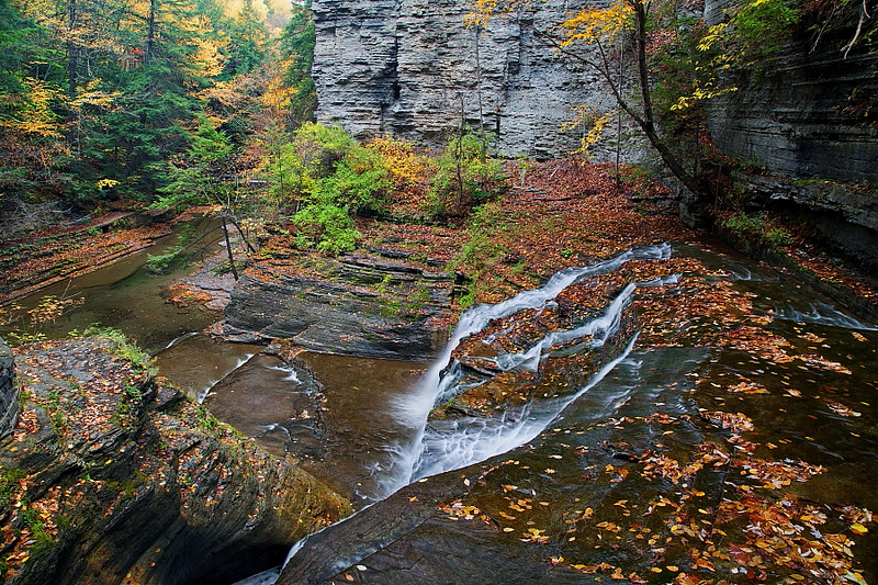 Image #272<br /> Buttermilk Falls State Park ~ Central N.Y.