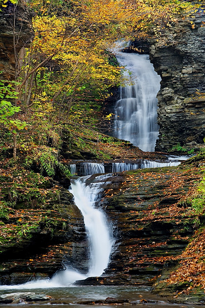 Image #246<br /> Deckertown Falls ~ Central N.Y.