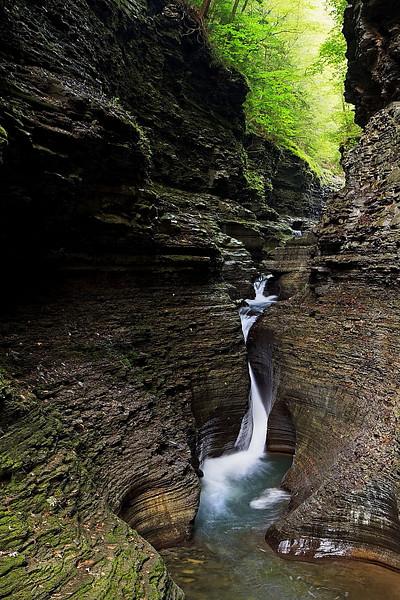 Image #5974<br /> Watkins Glen State Park, Central N. Y.