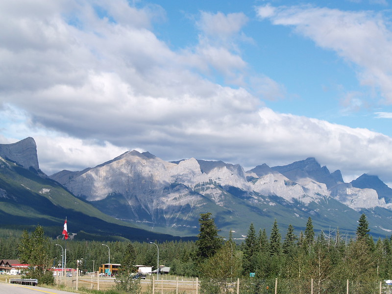 outside of Canmore (2006)