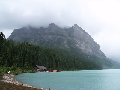 rainy Lake Louise (2006)