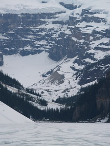 still frozen Lake Louise (2007)