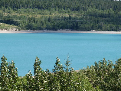 Barrier Lake on the way to Kanakasis Valley