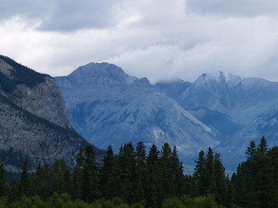 The Rockies, just outside of Banff (2006)