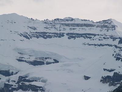mountain above Lake Louise (2007)