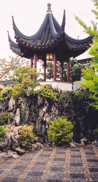 Ting pavilion at Sun Yat-Sen Classical Chinese Gardens (2004)