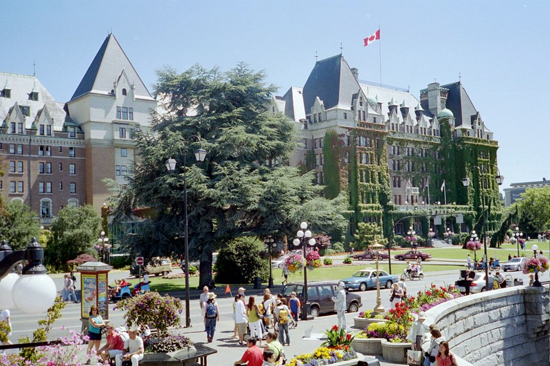The Empress Hotel in Victoria (2005).