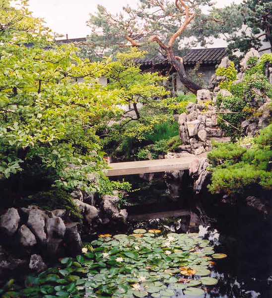 the inner garden at Sun Yat-Sen Classical Chinese Gardens (2004)