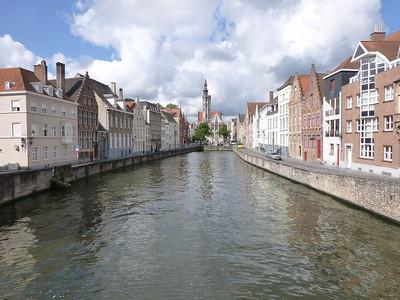 Brugge Canal view in Brugge