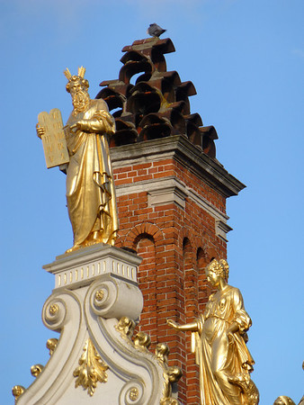 Brugge Burg Square