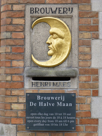Brugge De Halve Mann Brewery