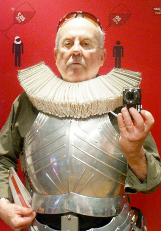 Amsterdam Amsterdam Museum - Self-portrait in a suit of armor.
