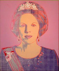 Amsterdam Rijksmuseum - Queen Beatrix by Warhol.