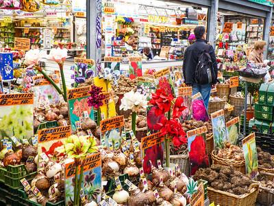 Amsterdam Bloemenmarkt - Flower Market