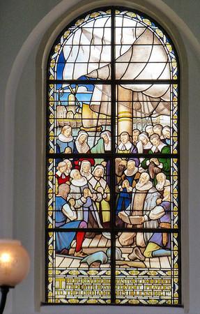 Amsterdam English Reformed Church - where pilgrims prayed before leaving for the new world (America).