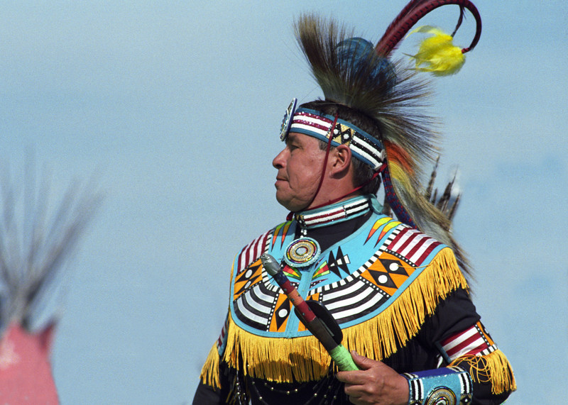 L6432 Native American Pow Wow, North American Indian Days, Browning, Montana