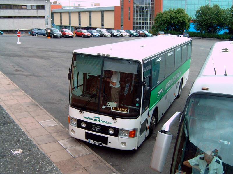 234 - J234NNC - Exeter (bus station) - 5.8.06