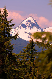 Mt Scott from Crater Lake, OR