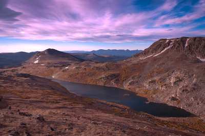 "Along Montana's ""The Beartooth"""