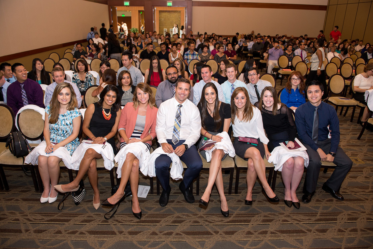 Concovation, white coat, President's Welcome Lunch