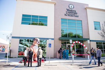 WesternU Pet Health Center grand opening