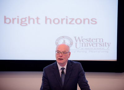 "WesternU President Wilson's first ""State of the University"" address"