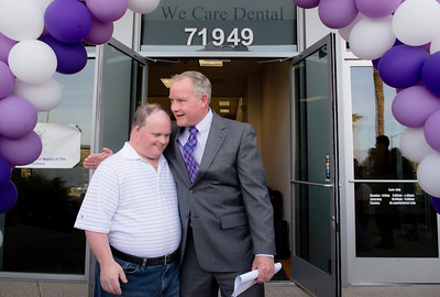 WesternU, We Care Dental hold ribbon-cutting ceremony