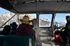 Nearing the Tetons on Jenny Lake shuttle