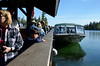 Departing on Jenny Lake shuttle for hike to Hidden Falls