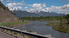 View of the Snake River and the Tetons from Swan Valley, Idaho