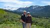 Us at Tetons View Overlook east of Driggs, Idaho