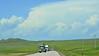 Fine thunderheads over the grasslands