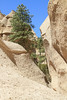 Exterior of slot canyon