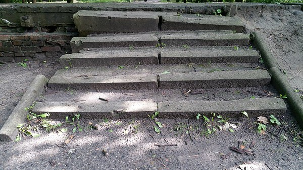If only these steps could talk...