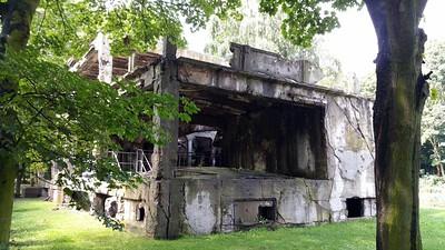 Westerplatte WW2 ruins Poland 2017