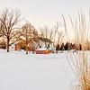 Winter Evening @ Everal Barn