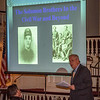 Ed Stanard speaks to the Wednesday night crowd about the Solomon Brothers in the Civil War and Beyond.