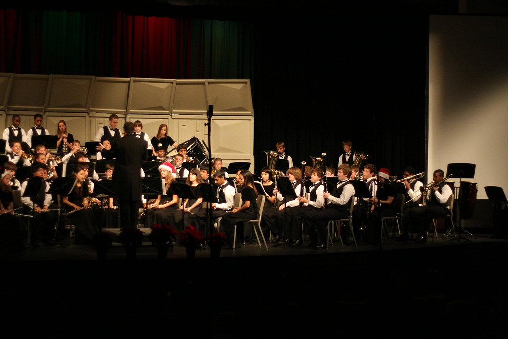 WHS Concert Band 2008-12-18 (4)