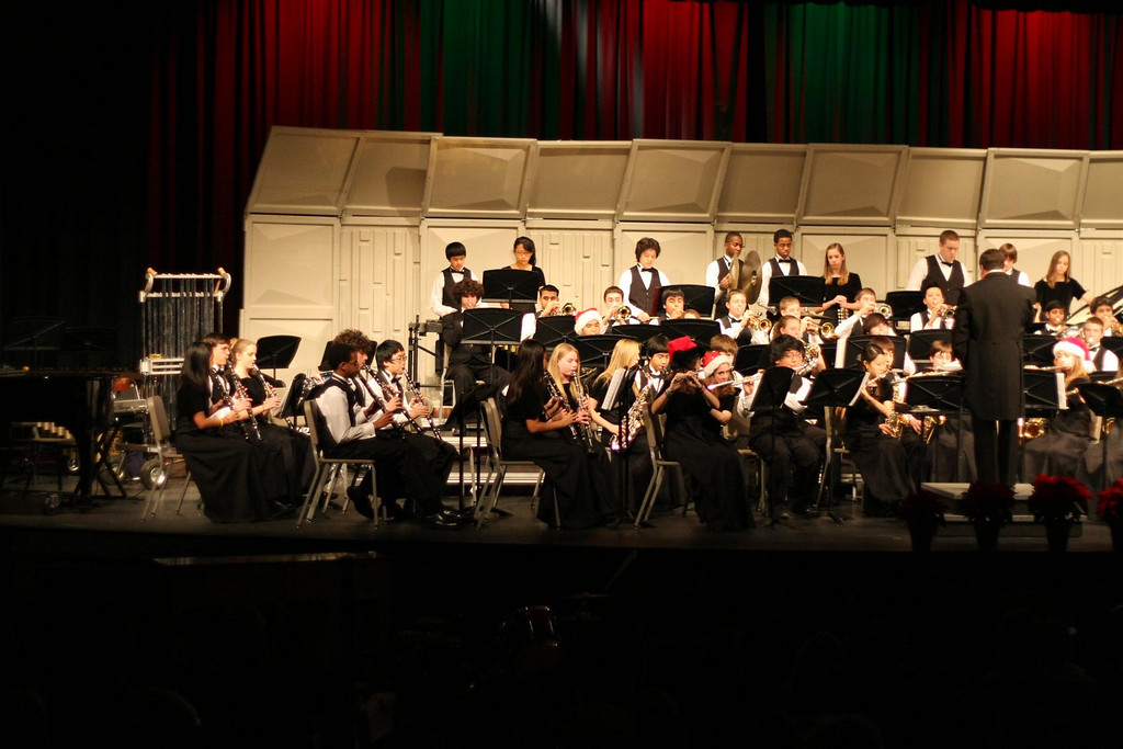 WHS Concert Band 2008-12-18 (2)