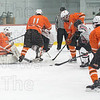 Westfield put pressure on the Agawam goalie all game long