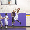 Andrew Czeremcha pulls down the defensive rebound