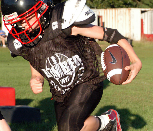 09/04/2013 Westfield Youth Football Practice