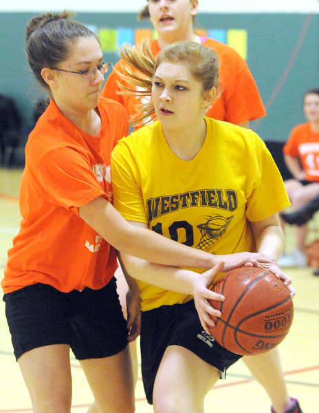 2/27/2013 Boys and Girls Club Girls Senior Gold/Orange Basketball